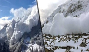 Suiza: provocan aludes controlados para evitar avalanchas mortales