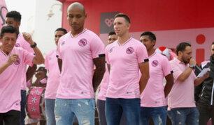 Sport Boys: 'rosados' presentaron su nueva camiseta para el 2019