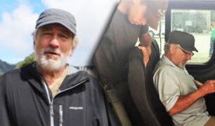 Robert de Niro visitó Iquitos y paseó por la Reserva Pacaya Samiria