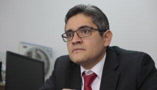 """Domingo Pérez: Barata """"tiene el deber de responder todas las preguntas"""""""