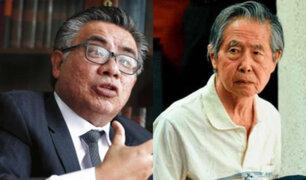 César Nakazaki alista nuevo recurso para revocar anulación de indulto a Fujimori