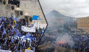 Grecia: miles protestan en contra de acuerdo sobre Macedonia