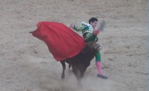 Cajamarca: torero recibió hasta cuatro cornadas en tradicional feria en Jaén