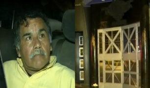 Surquillo: sujeto aparentemente ebrio amenazó con detonar granada en night club