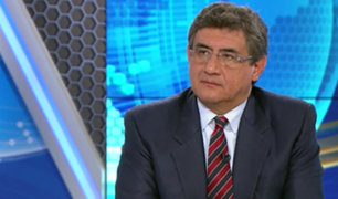 Juan Sheput opina sobre denuncia constitucional contra el presidente Vizcarra