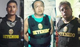 """Huacho: en megaoperativo detienen a integrantes de banda """"Los Salvajes de Santa María"""""""