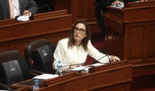 Congresista Paloma Noceda se une a la bancada de Acción Popular