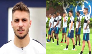 Alianza Lima: Felipe Rodríguez ya entrena con el cuadro 'íntimo'
