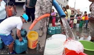 Vecinos denuncian que continúa falta de agua en algunos sectores de San Juan de Lurigancho