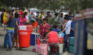 Municipio de SJL distribuyó casi 9 millones de litros de agua a vecinos