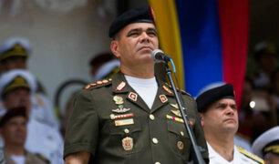 Ministro de Defensa de Venezuela expresa su respaldo a Nicolas Maduro