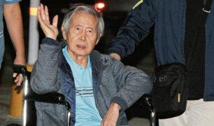 Alberto Fujimori fue hospitalizado por urgencia cardiaca
