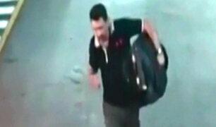 Miraflores: Ladrón roba maletín de vehículo en Larcomar