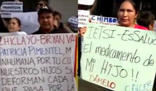 Hospital Rebagliati: pacientes protestan por falta de medicinas en EsSalud