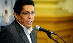 Ministro de Justicia señala que reparación civil que pagará Odebrecht puede aumentar