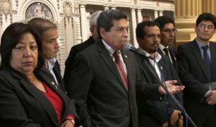 Parlamentarios de Frente Amplio respaldan gobierno de Nicolás Maduro