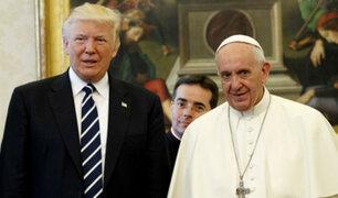 """Papa Francisco sobre muro de Trump: """"El miedo nos vuelve locos"""""""