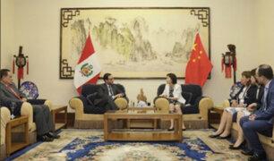 Ministro Vásquez anuncia que en abril se iniciarán reuniones para optimizar TLC entre Perú y China