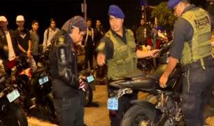 Chorrillos: realizan operativo contra piques ilegales en playa La Herradura