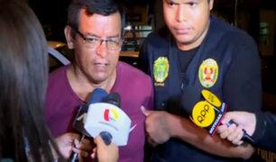 Luis Choy: implicado en crimen de fotógrafo fue trasladado a sede de requisitorias en Lima