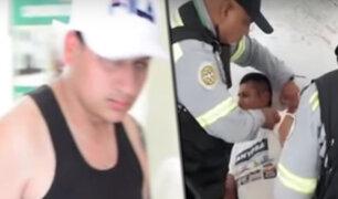 Surco: mototaxista de origen extranjero secuestra y agrede a sereno