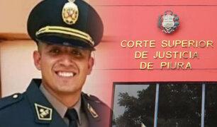 Piura: se realizó audiencia de apelación del policía Elvis Miranda