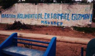 Abimael Guzmán: SL realiza pintas en varios distritos para pedir su liberación