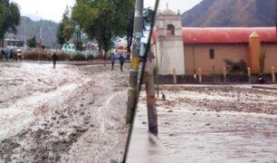 Más de 50 casas quedan inundadas tras intensas lluvias en Arequipa