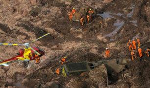 Brasil: rotura de represa dejó más de 300 desaparecidos y 9 fallecidos
