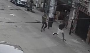 SJM: policía abatió a delincuente que asaltó a ciudadana extranjera