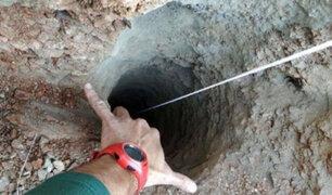 España: hallan sin vida a niño de 2 años que cayó a profundo pozo