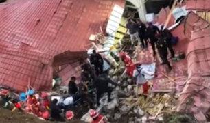 Apurímac: caída de pared durante un matrimonio deja 15 muertos y 30 heridos