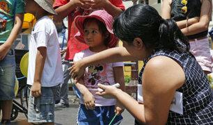 INSN: lanzan campaña para cuidar la salud de los niños en verano