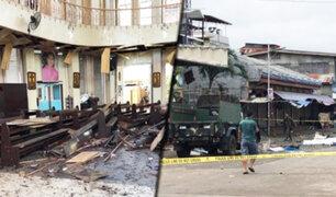 Atentado en Filipinas deja 27 muertos y decenas de heridos