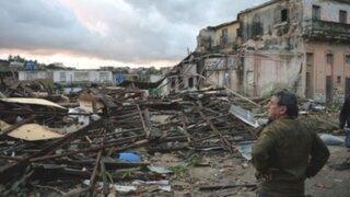 Tornado deja al menos tres muertos y 172 heridos a su paso por Cuba