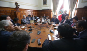 Junta de Portavoces aprobó recomponer Consejo Directivo del Congreso