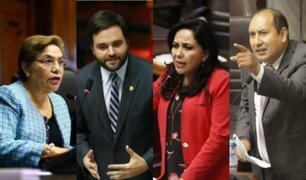 Parlamentarios opinan tras recomposición en el Consejo Directivo