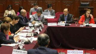Constitución aprobó dictamen de Ley Orgánica de la Junta Nacional de Justicia
