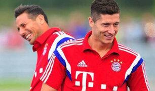 Lewandowski está a dos goles de igualar récord de Pizarro en la Bundesliga
