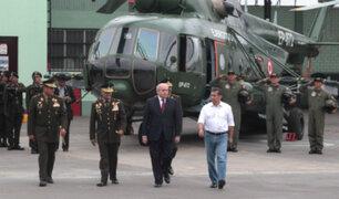 Piden investigar a Humala y Cateriano por compra de helicópteros con fallas