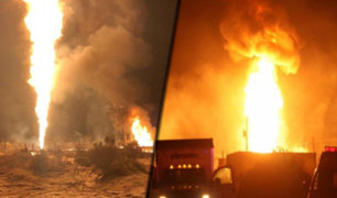 México: ducto ilegal de combustible explota en la región de Hidalgo