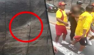 Barranco: mujer es rescatada tras intentar suicidarse lanzándose desde un acantilado