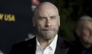 EEUU: John Travolta se lució calvo públicamente