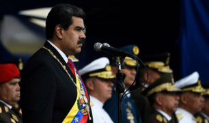 "Nicolás Maduro: Jefes militares de Venezuela me manifestaron su ""total lealtad"""