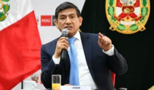 """Las Bambas: Morán afirma que no hay intención de """"una solución violenta"""""""