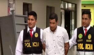 Los Olivos: capturan a ciudadano extranjero que pretendía robar agencia bancaria