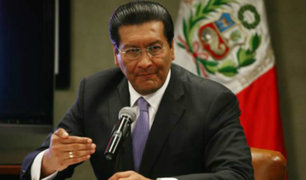 Poder Judicial dicta 8 meses de impedimento de salida del país contra exministro Paredes