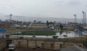 Tacna: intensas lluvias provocan aniegos en varias zonas de la ciudad