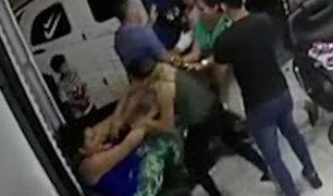 SJL: extranjera fue atacada brutalmente por tres peruanas