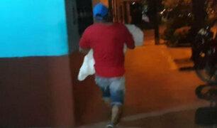 Iquitos: Padre huyó con el cuerpo de su pequeña hija para evitar autopsia